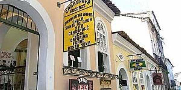 Crisópolis-BA-Comércio da cidade-Foto:achetudoeregiao.