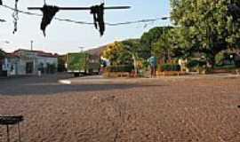 Aroazes - Praça central-Foto:srocha