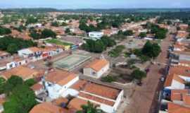 Baixa Grande do Ribeiro - Vista aérea diurna da cidade de Baixa Grande do Ribeiro-PI, Por Donizete Brandão de Alencar
