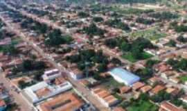 Baixa Grande do Ribeiro - Vista aérea da cidade de Baixa Grande do Ribeiro-Piauí, Por Donizete Brandão de Alencar