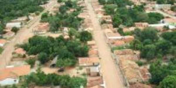 Vista aérea de Baixa Grande do Ribeiro, Por Donizete Brandão de Alencar