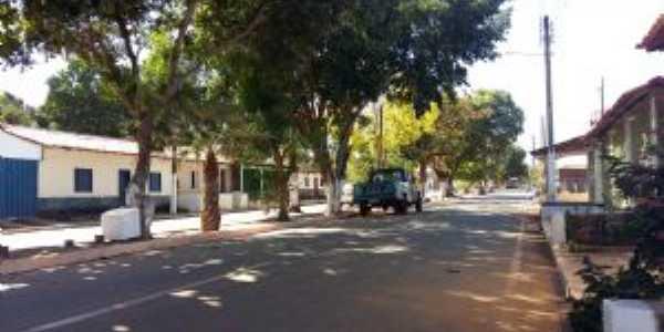 Avenida em Barreiras do Piaui, Por Tubym Barreira