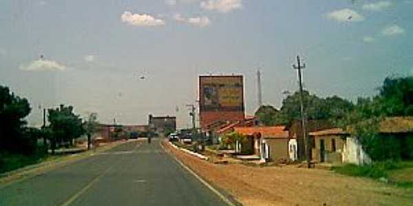Barro Duro-PI-Entrada da cidade-Foto:ANANIAS