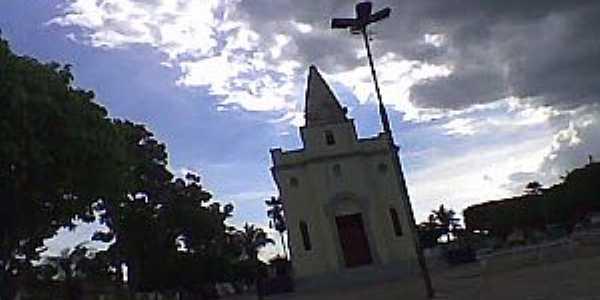 Barro Duro-PI-Igreja de São João Batista-Foto:ANANIAS