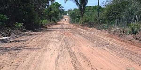 Boa Hora-PI-Estrada de terra-Foto:Eliel Assunção