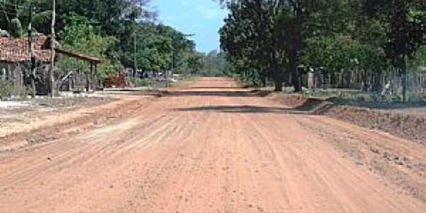 Boa Hora-PI-Estrada passando no distrito-Foto:Eliel Assunção