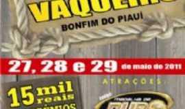 Bonfim do Piau� - Banner 12�  Festa do Vaqueiro, Por Pedro