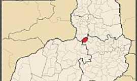 Cajazeiras do Piauí - Cajazeiras do Piaui-PI-Mapa de Localização