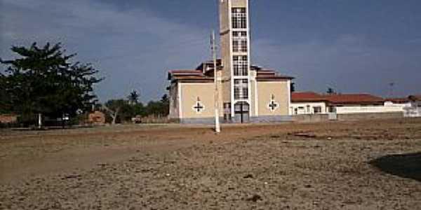 Cajueiro da Praia-PI-Matriz do Sagrado Coração de Jesus-Foto:João Ananias
