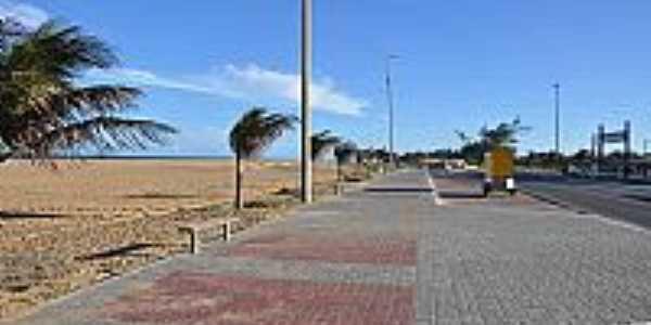 Avenida Beira Mar em Crussaí-BA-Foto:praias-360.