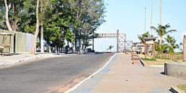Portal de entrada de Crussaí-BA-Foto:praias-360.