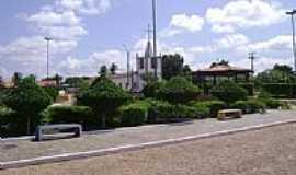 Campo Largo do Piauí - Praça da Igreja-Foto:Alex Carniel