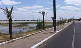 Campo Maior - Açude Grande visto da BR-343 em Campo Maior-PI-Foto:Antonio Carlos Burit…