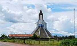 Campo Maior - Campo Maior-PI-Igreja Católica no Bairro Fripisa-Foto:walterfmota
