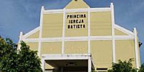 Campo Maior-PI-Primeira Igreja Batista-Foto:walterfmota