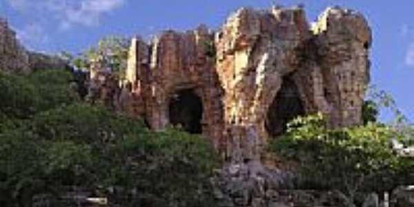 Pedra do Castelo em Castelo do Piauí-Foto:CavaleiroHell
