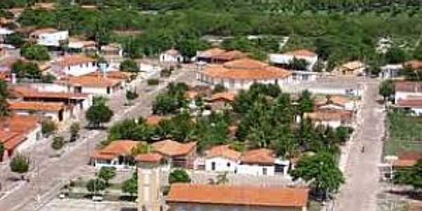 Cocal dos Alves-PI-Vista do centro da cidade-Foto:portalcostanorte.meionorte.com