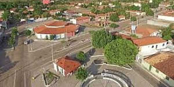 Cocal dos Alves-PI-Vista do centro da cidade-Foto:cidadeverde.com
