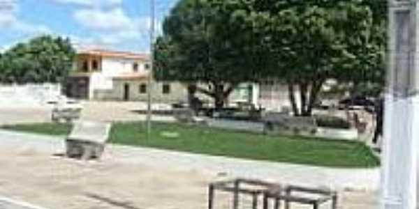 Praça em Cocal dos Alves-Foto:acessepiaui.