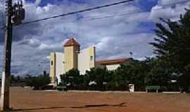 Colônia do Gurguéia - Igreja da Matriz de Colônia do Gurguéia-Foto:João Ananias