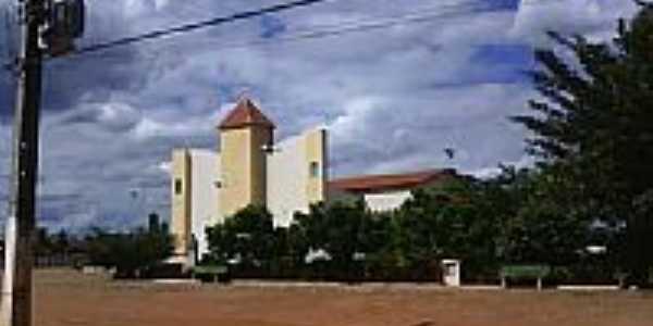 Igreja da Matriz de Colônia do Gurguéia-Foto:João Ananias