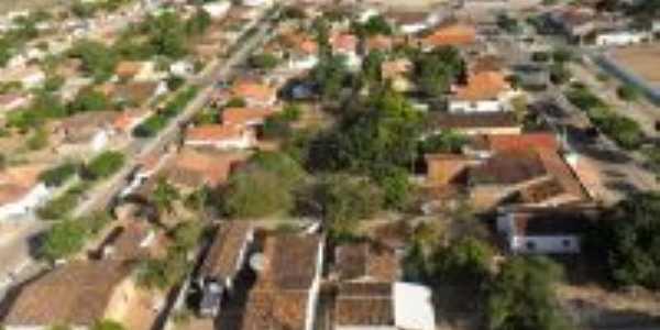 Vista aérea de Conceição do Canindé, Por Paulinho Informática