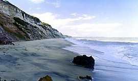 Cumuruxatiba - Cumuruxatiba-BA-Vista da praia-Foto:Alberto Alves