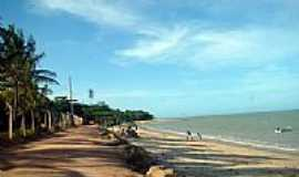 Cumuruxatiba - Estrada beira mar em Cumuruxatiba-BA-Foto:Milton Brigolini Nem…