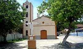 Cumuruxatiba - Igreja Matriz de Cumuruxatiba-BA-Foto:Milton Brigolini Nem…