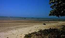 Cumuruxatiba - Praia central de Cumuruxatiba-BA-Foto:Gui Torres
