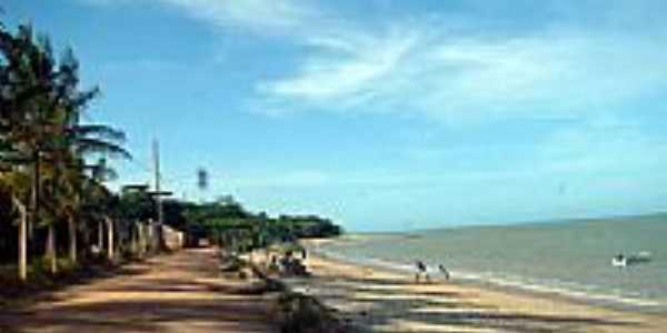 Estrada beira mar em Cumuruxatiba-BA-Foto:Milton Brigolini Nem…
