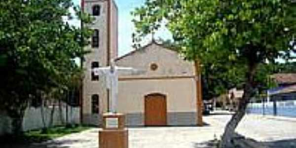 Igreja Matriz de Cumuruxatiba-BA-Foto:Milton Brigolini Nem…