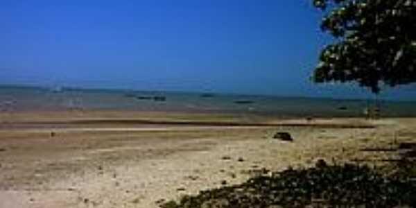 Praia central de Cumuruxatiba-BA-Foto:Gui Torres