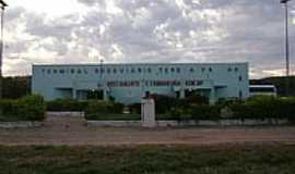 Cristino Castro - Terminal Rodoviário-Foto:Cabral Lopes