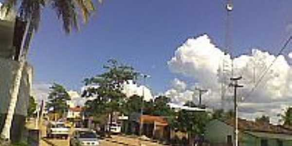 Avenida em Curimatá
