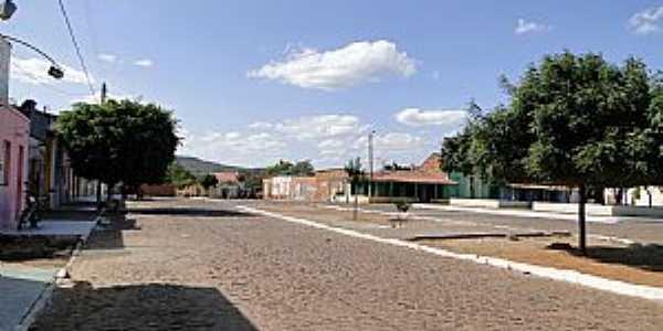 Curral Novo do Piaui-PI-Centro da cidade-Foto:mapio.net