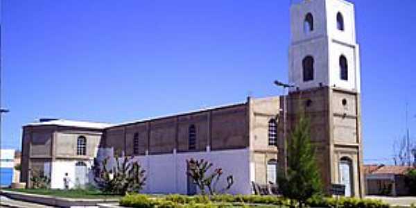 Curral Novo do Piaui-PI-Igreja Matriz-Foto:www.bemisa.com.br