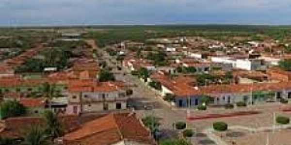 Curral Novo do Piaui-PI-Vista da cidade-Foto:cidadesnanet.com