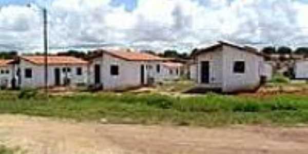Conjunto habitacional em Curralinhos-Foto:adh.pi.
