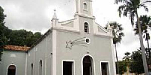 Matriz de N.Sra.do Perpétuo Socorro em Demerval Lobão-Foto:Vicente A. Queiroz