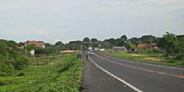Rodovia BR-316 em Demerval Lobão-Foto:celinha_panoramio@ho…
