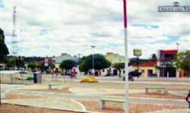 Dirceu Arcoverde - Avenida Joaquim Amâncio Ribeiro no centro de Dirceu Arcoverde, Por Esrom  Mota