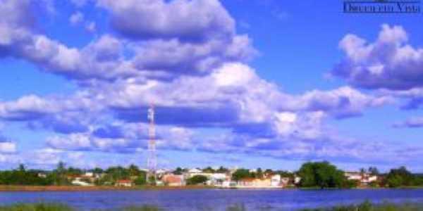 Vista panorâmica do plano sul da cidade de Dirceu Arcoverde, Por Esrom  Mota