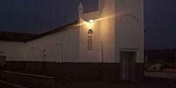 Vista noturna da Igreja Matriz-Foto:edvarton
