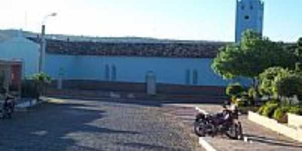 Lateral da Igreja Matriz-Foto:Benedito Segundo