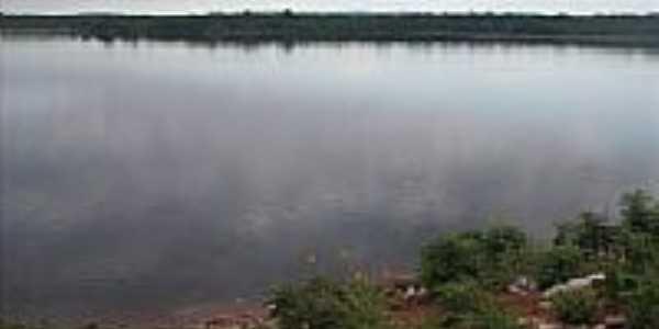 Barragem dos Oitis em Dom Inocêncio-Foto:raimundo campos