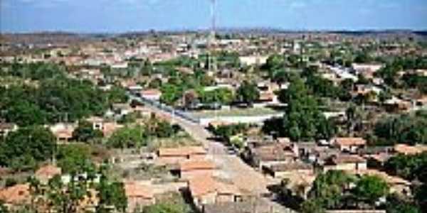 Vista da cidade de Elesbão Veloso-Foto:josanilton