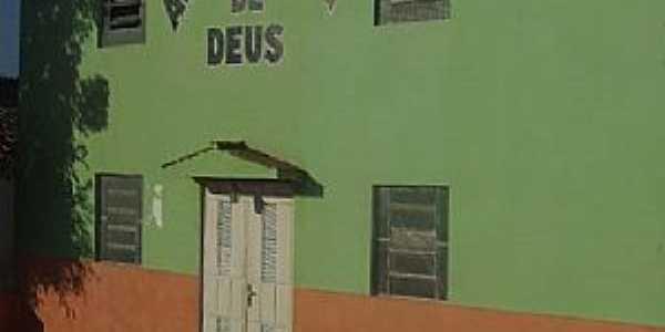 Eliseu Martins-PI-Igreja da Assembléia de Deus-Foto:walterfmota