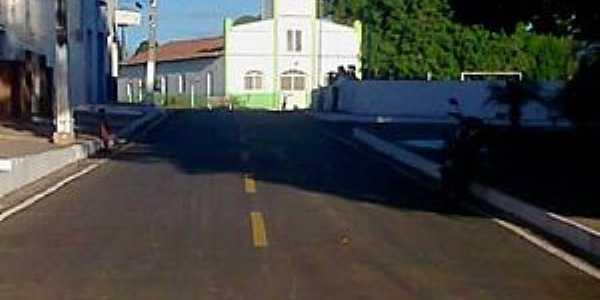 Eliseu Martins-PI-Rua da Matriz-Foto:Adelmir Andrade