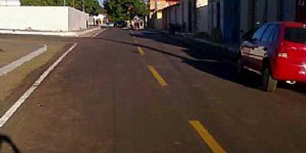 Eliseu Martins-PI-Rua do centro-Foto:Adelmir Andrade